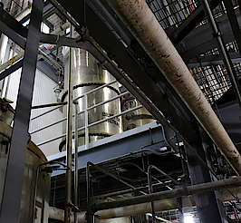 Beer still of the Heavenhill distillery. uploaded by Ben, 12. Jun 2015