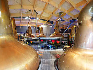 Macallan pot stills uploaded by Ben, 10. Dec 2018