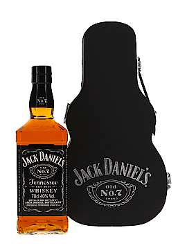 Jack Daniel's Daniel's Old No. 7 - guitar case