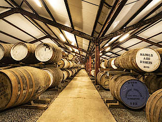 Glengoyne casks in warehouse uploaded by Ben, 17. Jun 2019