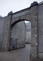 Bunnahabhain entrance gate uploaded by Ben, 25. Jan 2016