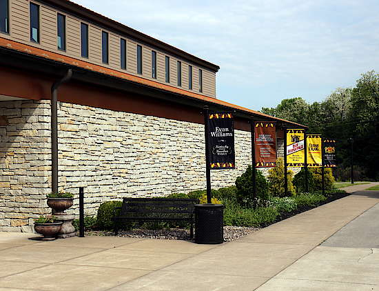 The Entrance of the visitor centre in Bardstown