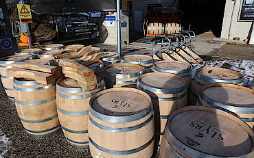 Slyrs cask for the warehouse uploaded by Ben, 28. Apr 2015