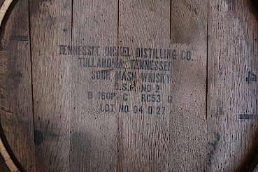 George Dickel company stamp on the barrel uploaded by Ben, 08. Jun 2015