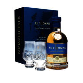 Kilchoman The Machir Bay Gift Pack including Machir Bay plus Two Tasting Glasses