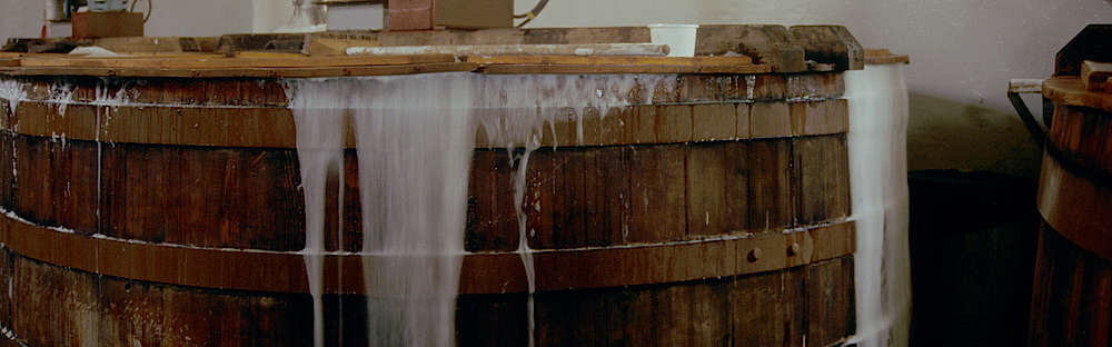 A overflowing washback of Lagavulin