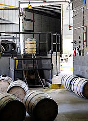 George Dickel Truck being loaded with barrels uploaded by Ben, 08. Jun 2015