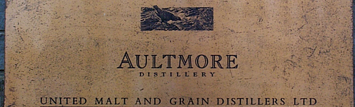 The Sign in front of the Altmore distillery