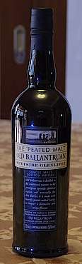 "Old Ballantruan ""The Peated Malt"" Speyside Glenlivet"