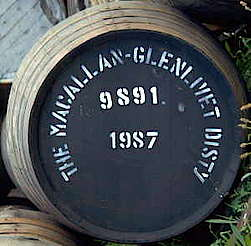 Macallan cask uploaded by Ben, 15. Apr 2015