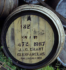 Glenfarclas cask uploaded by Ben, 11. Mar 2015