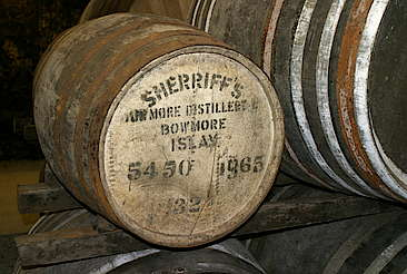 Bowmore cask uploaded by Ben, 16. Feb 2015