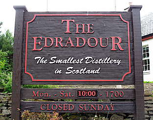 Edradour company sign uploaded by Ben, 25. Feb 2015