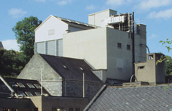 The former malting buildings of the Tamdhu distillery