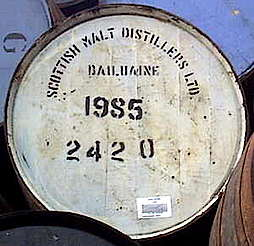 Dailuaine cask uploaded by Ben, 17. Feb 2015
