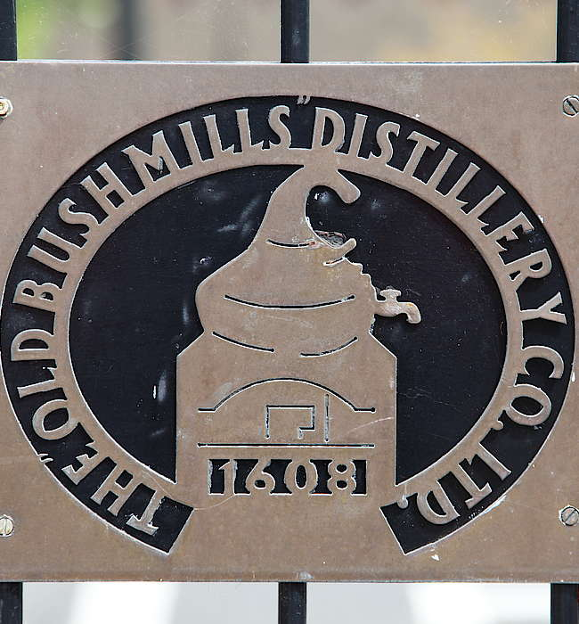 Bushmills company sign uploaded by Ben, 12. May 2015