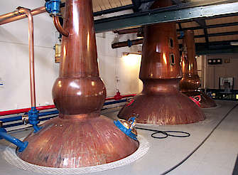 Cragganmore pot stills uploaded by Ben, 17. Feb 2015