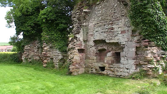 Inside the Ruins of the Lindores Abbey