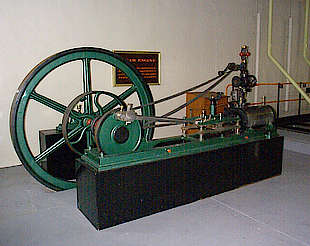 Longmorn old steam engine in the visitor center uploaded by Ben, 14. Apr 2015