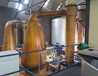 Tullibardine pot stills and condensers uploaded by Ben, 04. May 2016
