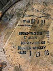 Buffalo Trace barrel cover uploaded by Ben, 21. Jul 2015