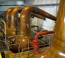 Macallan small spirit stills uploaded by Ben, 15. Apr 2015