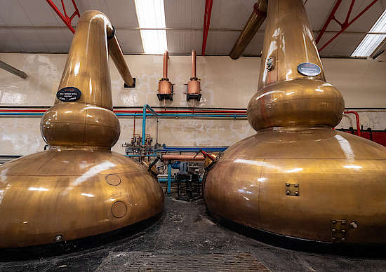 The Glenfarclas Pot Stills