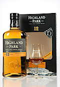 Highland Park with Nosing Glas