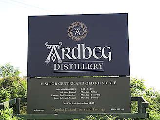 Ardbeg company sign uploaded by Ben, 10. Feb 2015