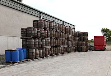 Cooley some casks uploaded by Ben, 18. May 2015