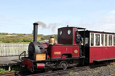 Bushmills train uploaded by Ben, 12. May 2015