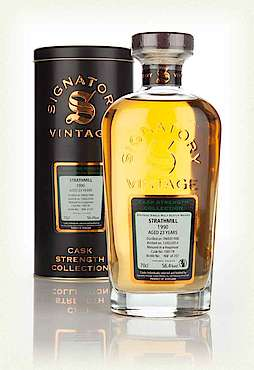 Signatory Vintage Strathmill 23 Year Old 1990 (cask 100178) - Cask Strength Collection (Signatory) (70cl, 56.4%)