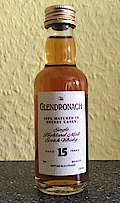 Glendronach 100 % matured in sherry cask