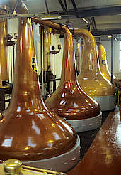 Bowmore pot stills uploaded by Ben, 16. Feb 2015