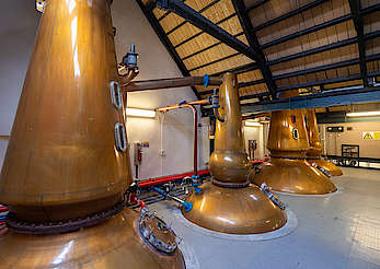 Cragganmore pot stills uploaded by Ben, 13. Dec 2019