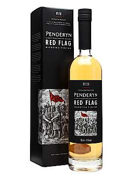 Penderyn Icons of Wales Red Flag