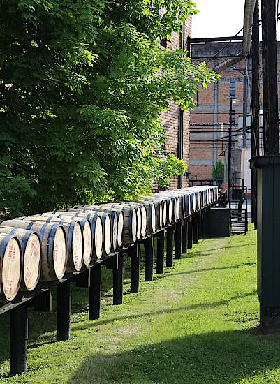 Barrel Transport at Buffalo Trace