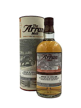 Arran Small Batch St-Emilion Wine Casks Exclucive Netherlands