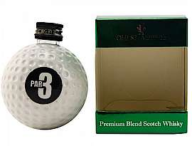 Old St.Andrews Par 3  Blended Whisky Golfball Miniature - 40% - 0.05l