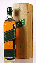 Johnnie Walker Green label in Wooden Case