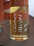 Coleburn 1981 / 2002 Sample Selected and Bottled Exclusively for Switzerland (S.Fassbind)