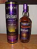 Benriach Dark Rum Wood Finish