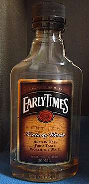 Early Times , Kentucky Whisky, 80 Proof