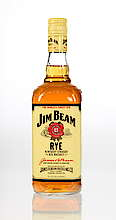 Jim Beam Rye Yellow label