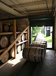 Buffalo Trace barrel sorting uploaded by Ben, 21. Jul 2015