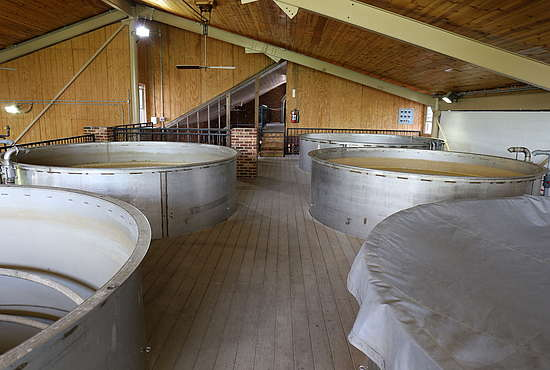 The Fermenters of the Willet Distillery