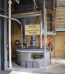 Buffalo Trace yeast mash cooker uploaded by Ben, 21. Jul 2015