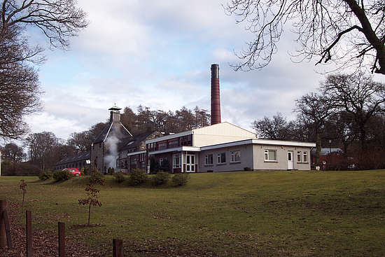 The Aberfeldy distillery