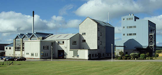 The still house of the Aultmore distillery.