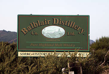 Balblair company sign uploaded by Ben, 10. Feb 2015
